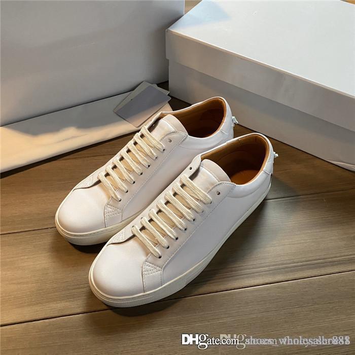 tendance nouvelle de la mode sportswear chaussures de sport tous les matériaux en cuir avec TPU semelle extérieure chaussures de sport légères résistant à l'usure Avec boîte