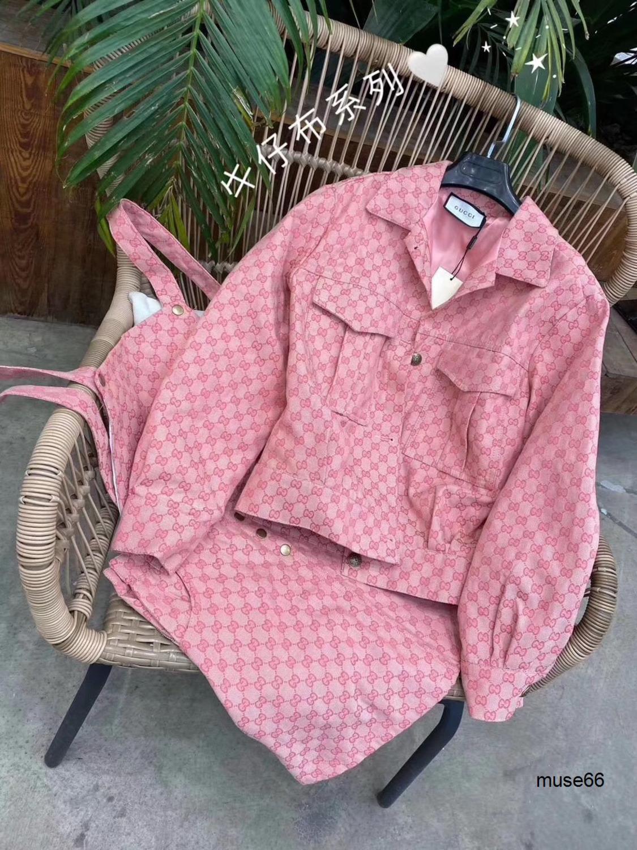 Kayış etek takım elbise 040.507 ile son moda en iyi seçim konforlu yüksek kaliteli Pembe ceket