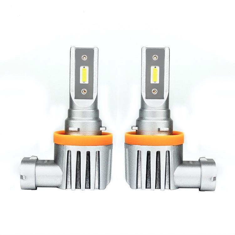 Otomatik Aydınlatma Sistemi Yüksek Performanslı Mini Boyutu Ampuller H11 LED Far Seti