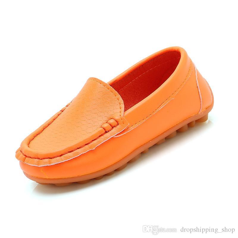2020 SCARPE correnti del commercio all'ingrosso dei ragazzi delle BIANCO ROSSO NERO MARRONE Rosa Giallo Arancio della moda Sport scarpe da tennis TRAINER