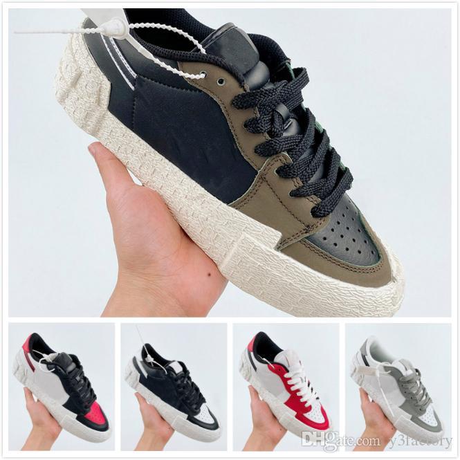 Оптовая продажа новый 2020 унисекс низкие кроссовки модные спортивные дизайнерские кроссовки Женские кроссовки для бега мужчины роскошные туфли на платформе размер: 36-45