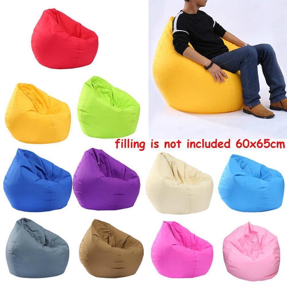 AsyPets Armazenamento animal Waterproof Stuffed / Toy Bean Bag cor sólida Oxford Cadeira Coberta Beanbag Grande (enchimento não está incluído) -30