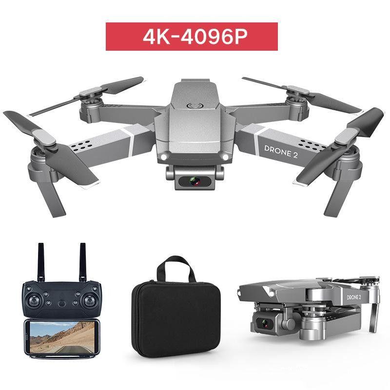 2020 الجديدة E68 WIFI FPV الطائرة بدون طيار البسيطة مع زاوية واسعة HD 1080P كاميرا 4K هايت عقد الوضع RC طوي كوادكوبتر درون هدية محفظة 5pcs DHL