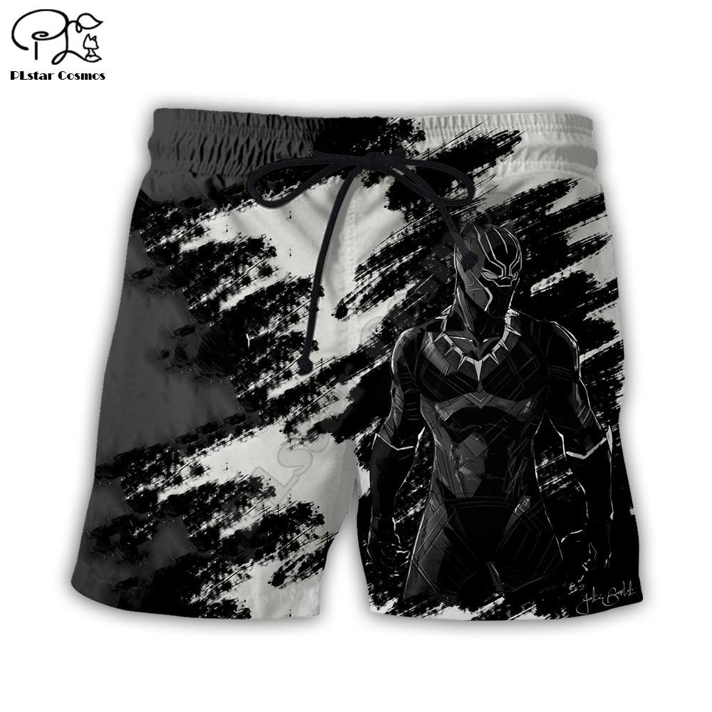 PLstar Cosmos 3d gedruckt Shorts für Männer Frauen Sommer Strand Shorts Hip Hop Short Black Panther Hosen Unisex Drop Shipping