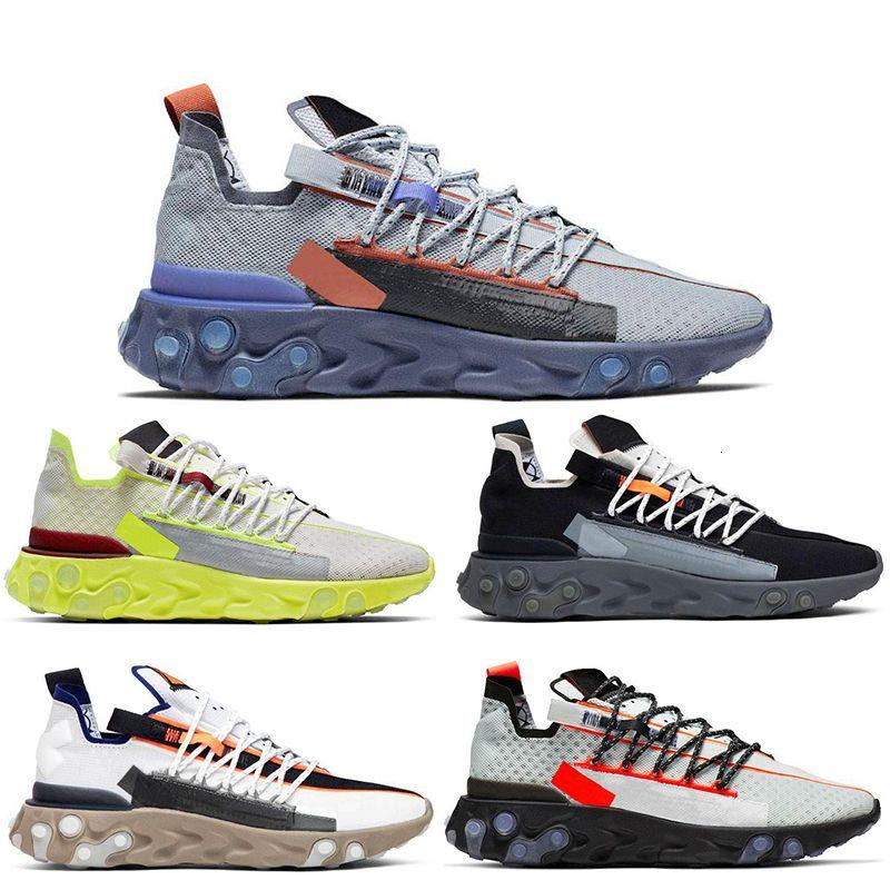 2020 React Wr Ispa Running Shoes Mens Women Ghost Aqua Elvet Brown Lw Mid Gunsmoke Pure Platinum White Grey Mens Trainer Sneaker