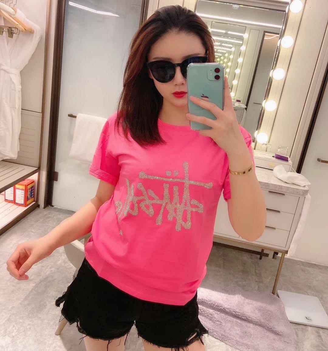 Frauen T-Shirt beiläufige Art und Weise T-Shirt Größe M L bequeme warm WSJ000 # 112568 wzk522