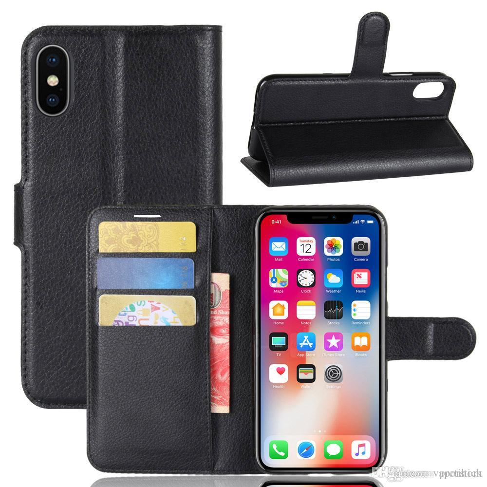 New designer phone case for iPhone XS MAX XR X 8 7 Plus 6 5s 5 Vintage Retro Flip Stand Wallet Leather Case With Strap Photo Frame in stock