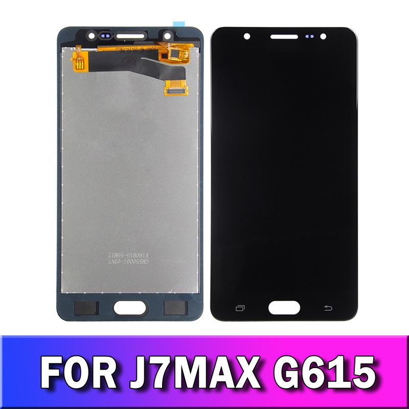 5.7 Lcd Display Screen Digitizer for Samsung Galaxy J7 Max G615F/DS G615 Assembly Mobile Replacement Parts Multi Color