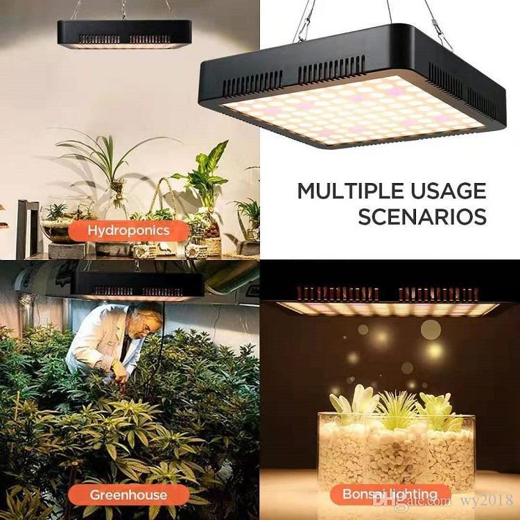 Yüksek Güçlü Işık 1000W LED Full Spectrum Büyüyen Hidroponik Tesisi için Işık Paneli Lamba Grow