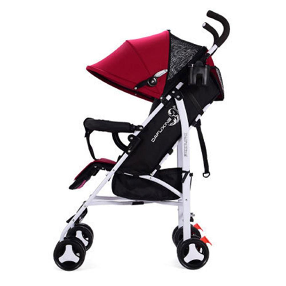 Kidlove bebê Folding 2 em 1 Stroller previsto portátil Bebê recém-nascido Stroller Umbrella carrinho carro carrinho de bebê Carriage