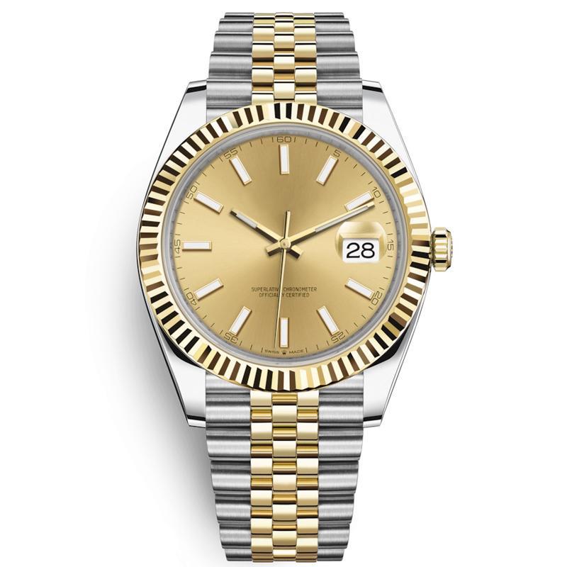 Dropshipping1-Top U1 Мужские часы 41мм автоматические движения из нержавеющей стали мужские часы 2813 Механические наручные часы водонепроницаемый Luminous
