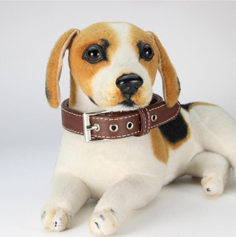 Ошейники для собак искусственная кожа кошка ошейник для собак D кольцо безопасности собака ожерелье собачьи поводки аксессуары поставки 2 цвета опционально Оптовая продажа WZW-YW3176