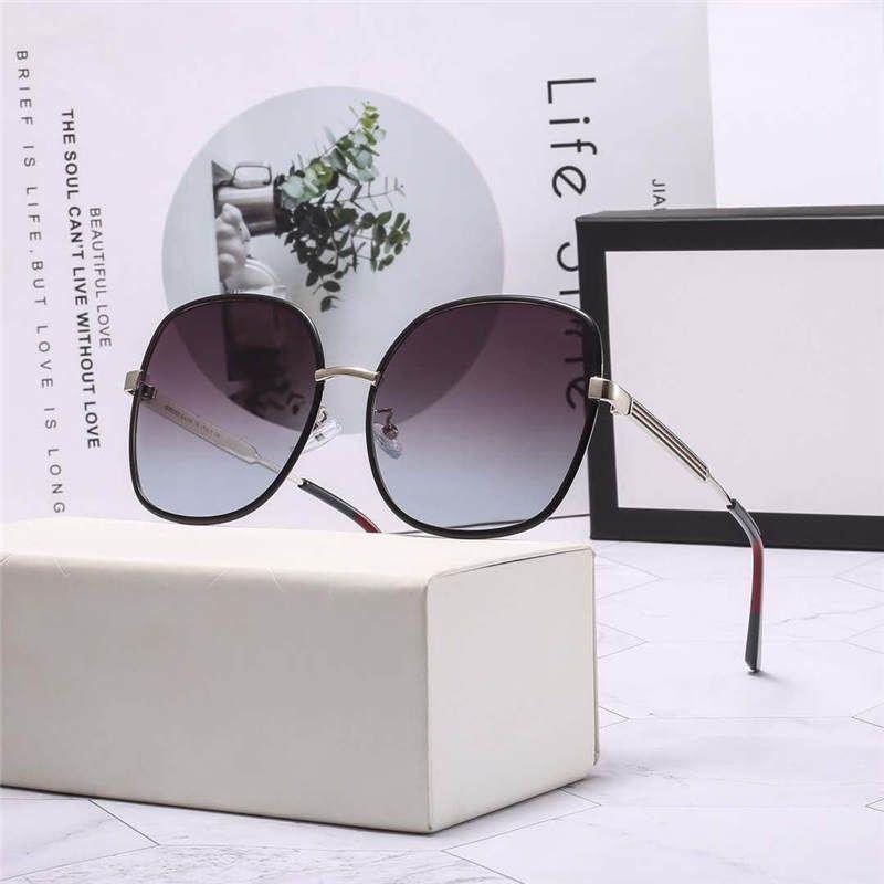 نظارات رجالي الصيف نمط للجنسين إمرأة نظارات شمس شاطئ UV400 9368 خمسة خيارات الألوان جودة عالية مع صندوق