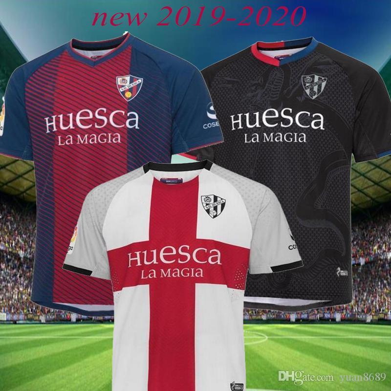 2019 2020 SD Huesca Jersey Tailandia del fútbol Camacho Melero hogar lejos jerseys Cucho Huesca camiseta de fútbol Moi Gómez 19 20 Camiseta Maillot
