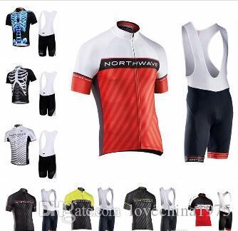 2019 NW велоспорт Джерси с коротким рукавом рубашка нагрудник шорты набор летний стиль быстро сухой велосипед одежда MTB велосипед Ropa Ciclismo
