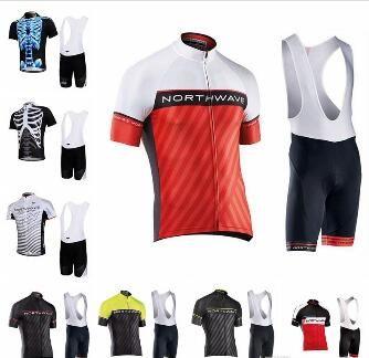 2019 NW ciclismo jersey manga corta camisa babero conjunto estilo verano ropa de bicicleta de secado rápido MTB Bike Ropa Ciclismo