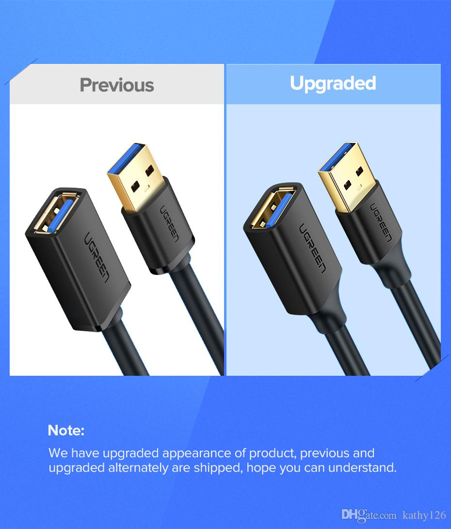 0.3M-5M USB3.0 Extension Cable Lead A Male to Female Data Cord High-Speed 5Gbps