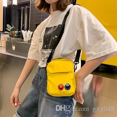 2019 printemps drôle fille sac Messenger sac femme japonaise collège vent sacs à bandoulière étudiant sacs à bandoulière avec livraison gratuite