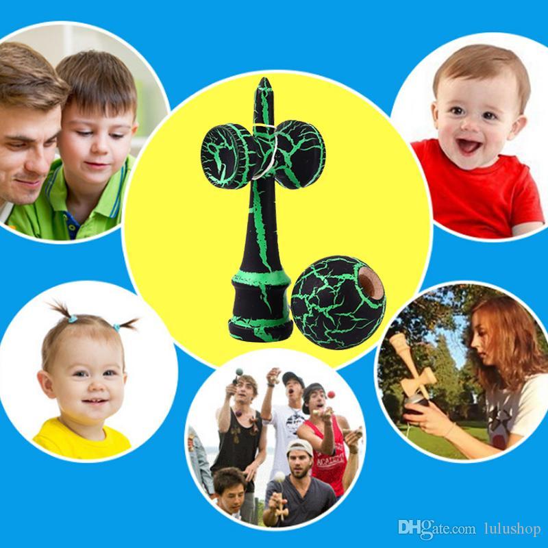 Yeni Varış Çocuk Kendama Oyuncak Ahşap Ahşap Kendama Usta Hokkabazlık Topu Oyuncak Çocuklar Için Yetişkin Doğum Günü Noel Hediyesi Oyuncak