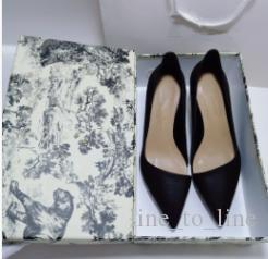 Satılık 2019 gündelik seksi ayakkabı tasarımcısı hakiki deri iyi kaliteli yüksek topuklu ayakkabıların terlik sandalet kadın Sivri ayakkabı pompaları