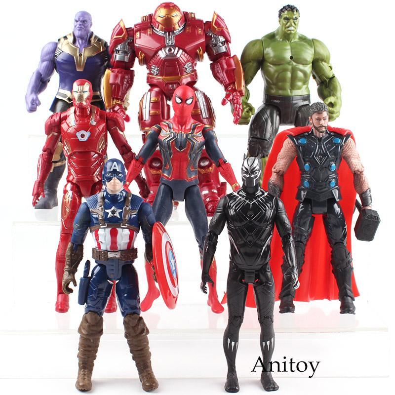 Avengers 3 Infinity War 20 cm Captain America PVC Action Figure Toys Kids Doll