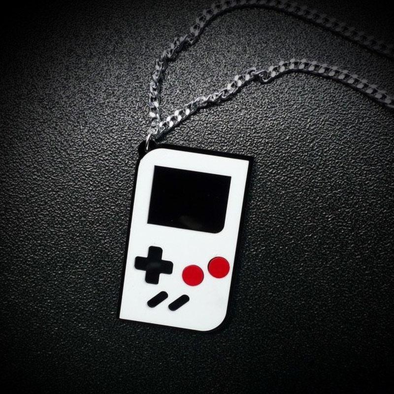 Collana Creative Design console di gioco semplice ciondolo catena in resina collana per le donne più venduti Bar Mostra rifornimento degli accessori Produttori