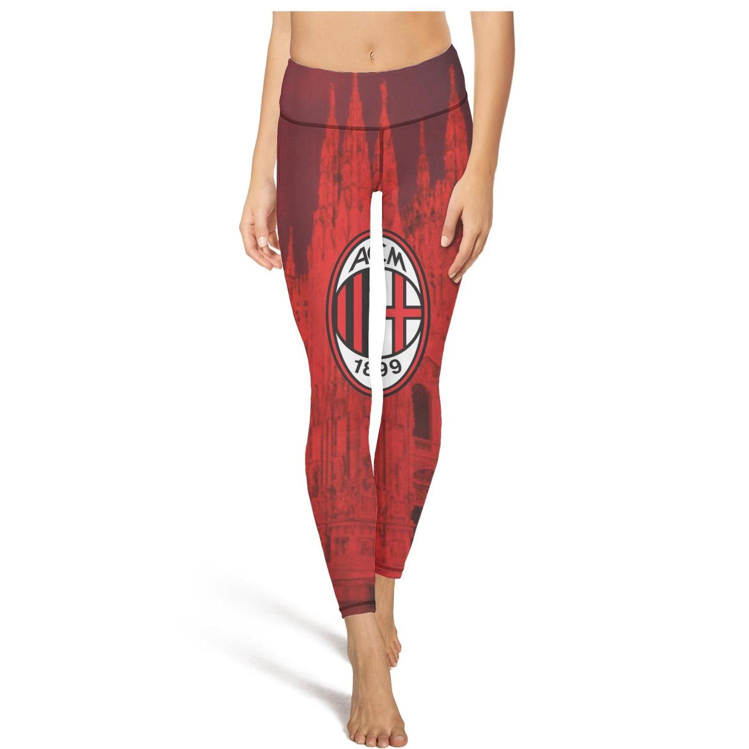 2020 A C Milan I Rossoneri L Diavolo Acm Black High Waist Yoga Pants Womens Gym Yoga Pants Breathable Run Tights Cool Leggings Blac From Coolfans 42 87 Dhgate Com