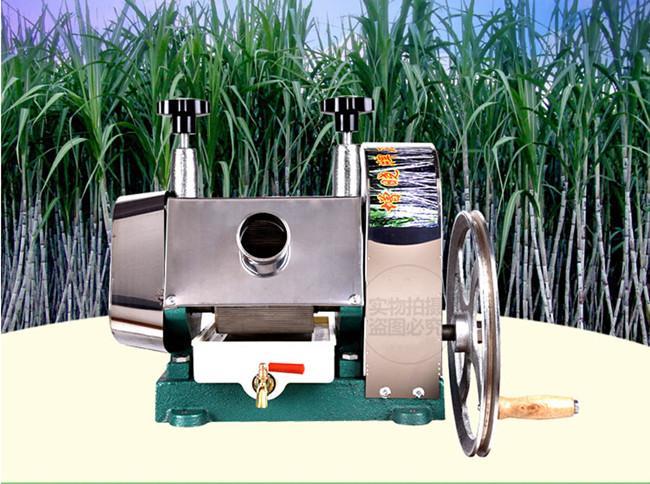 Hohe Qualitätshandbuch Modell Zuckerrohr Ingwer Pressemaschine Saftsaftmaschine