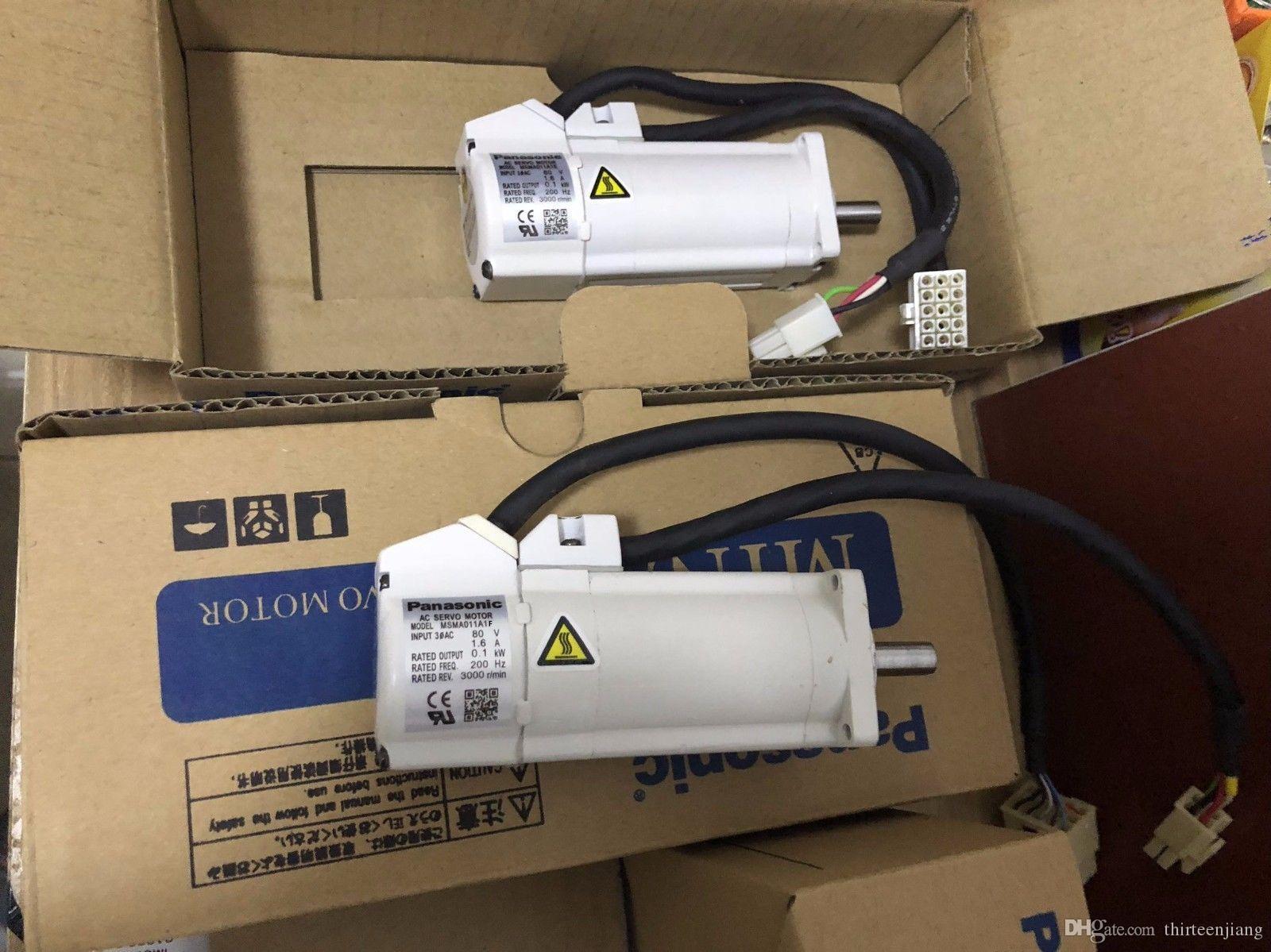 1 PC Panasonic Servo Motor MSMA011A1F New In Box Free Expedited Shipping