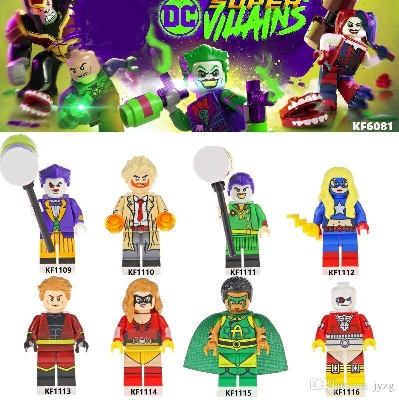 Figura Heróis Infinito palhaço Guardiões da Guerra da Galáxia Vingadores Filmes de Vídeo Jogo Dos Desenhos Animados Blocos Brinquedos Figuras Kopf Blocos KF1110