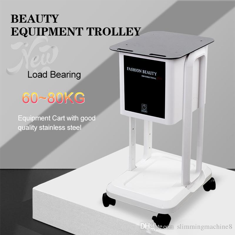 High Quality beauty Trolley beauty machine Stand Tray Holder Roller Wheel car Best Stand Tray for Salon Spa Use equipment 2years warranty