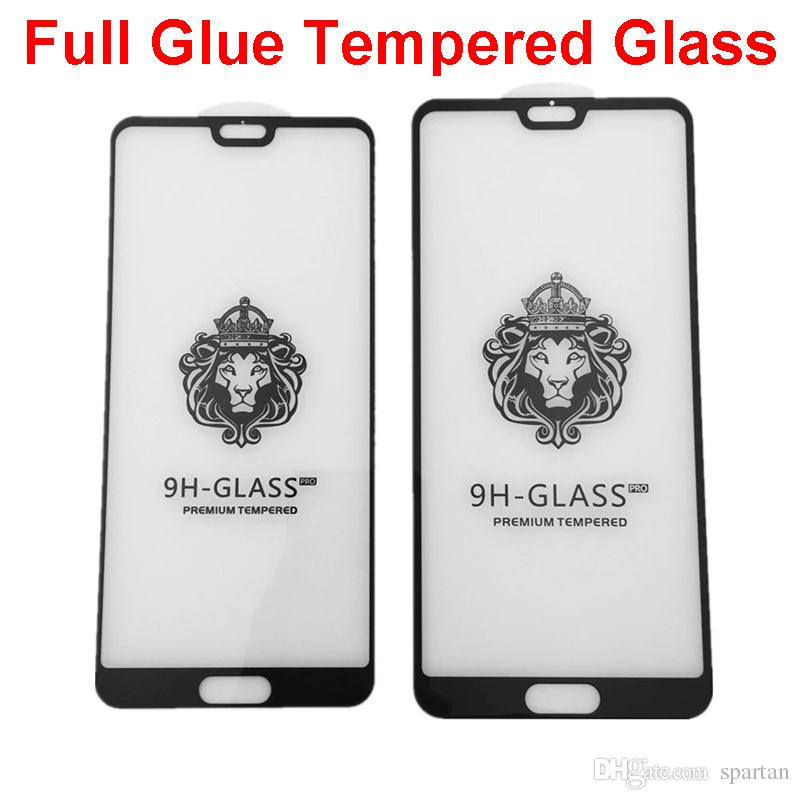 Full Glue Tempered Glass for iPhone 12 11 pro max xs XR 6 7 Plus 8 Full Coverage 5D edge Screen protector Samsung A01 Core A11