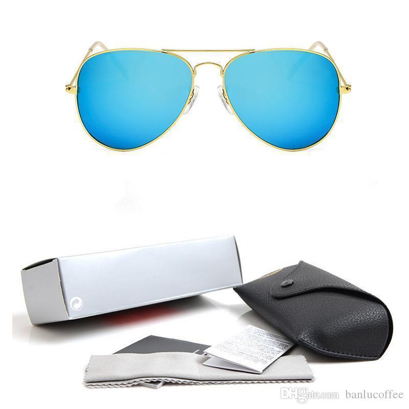 2020 pilote de haute qualité de l'objectif Lunettes de soleil de mode pour Polarized hommes et femmes concepteur de marque Vintage Sport Lunettes de soleil