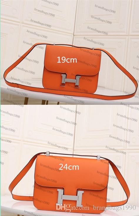 19cm 24cm cowskin Espom sacs en cuir véritable Fashion Designer Sac Marque Sac bandoulière femmes de luxe Lady comstanse Handbag Factory 0022