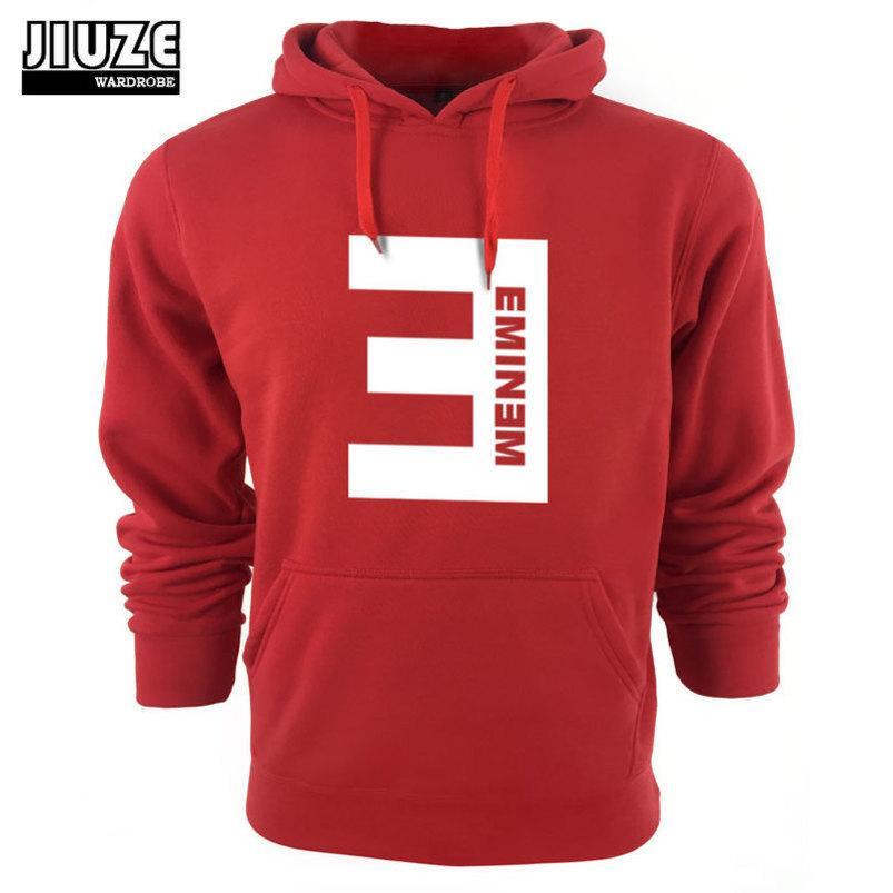 All'ingrosso-2015 Sportswear Abbigliamento Abbigliamento Felpe Eminem Stampato addensare EM Pullover Pullover da uomo dei nuovi uomini di inverno