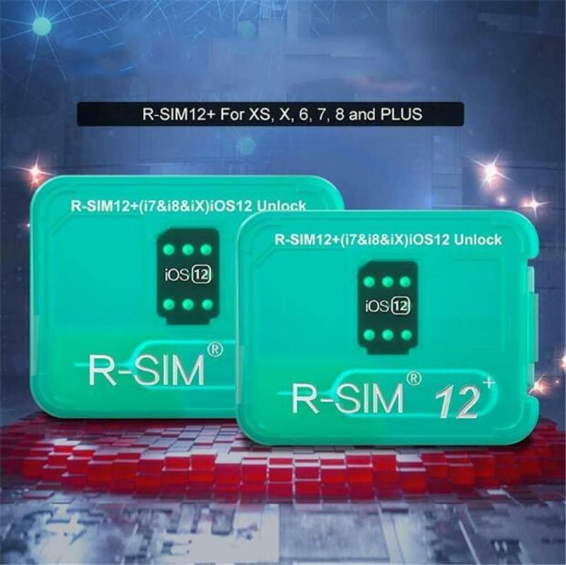 RSIM12+ perfect unlock For ios 12.3 R-sim 12 + Original SIM Card ICCID Unlock for iphone X iphone 8 7 7p 6p 6s 4G Sprint ATT
