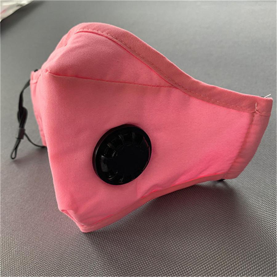 Activada con PM2.5 carbono Polvo Máscara de filtro Máscara anticontaminación de ciclo del deporte de la bicicleta MTB de la bici de la cara