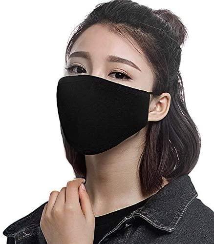 Designer Face Mask Anti-polvere cotone bocca maschera viso uomo unisex uomo donna ciclismo indossando moda nera alta qualità
