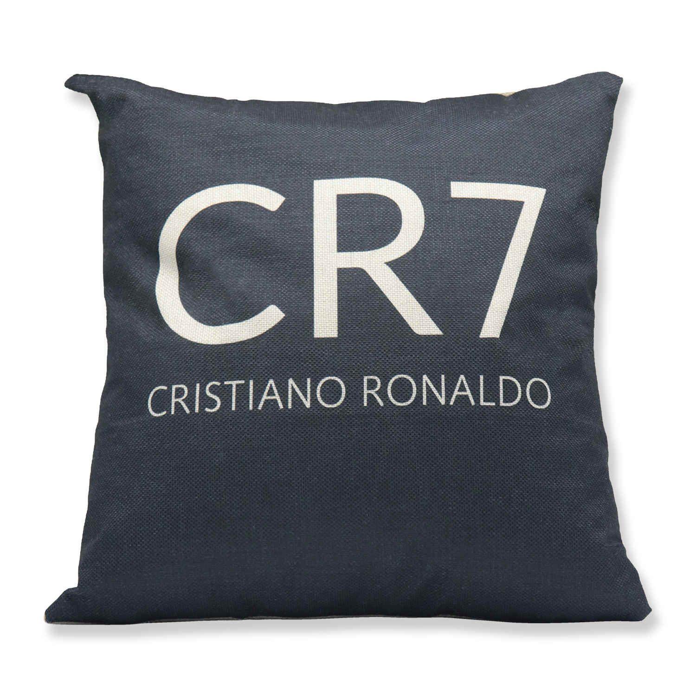 Real Madrid RONALDO Calcio di stampa del modello Casa-Arredo Car Pillow Cushion Set Flag Football 40 * 40 biancheria di cotone