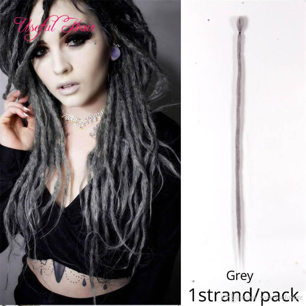 2020 Dreads Extensions Hair Long Nepal Felted Wool Synthetic Dreadlocks Crochet Hair Extensions Crochet Braids For Kids And Adult 2020 From Useful Hair 1 51 Dhgate Com