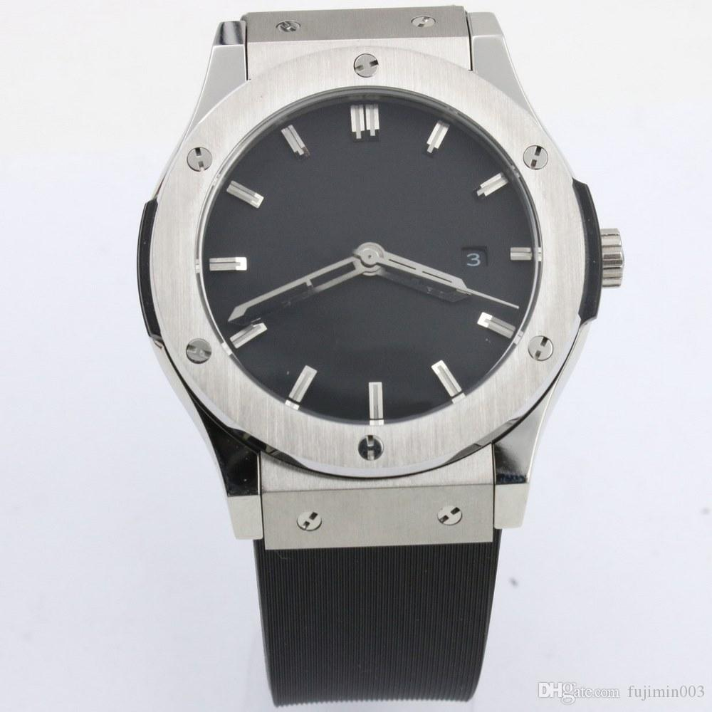 13 цветов Топ продают BIG BANG 5111780 42мм автоматических часов часов mechinal наручных часов Автоматических 3 игольчатых мужчина часов 08