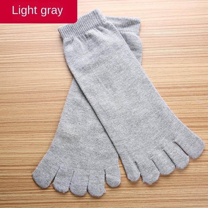Five Finger e os homens de algodão algodão dedo do pé dedo do pé meias meias masculinas