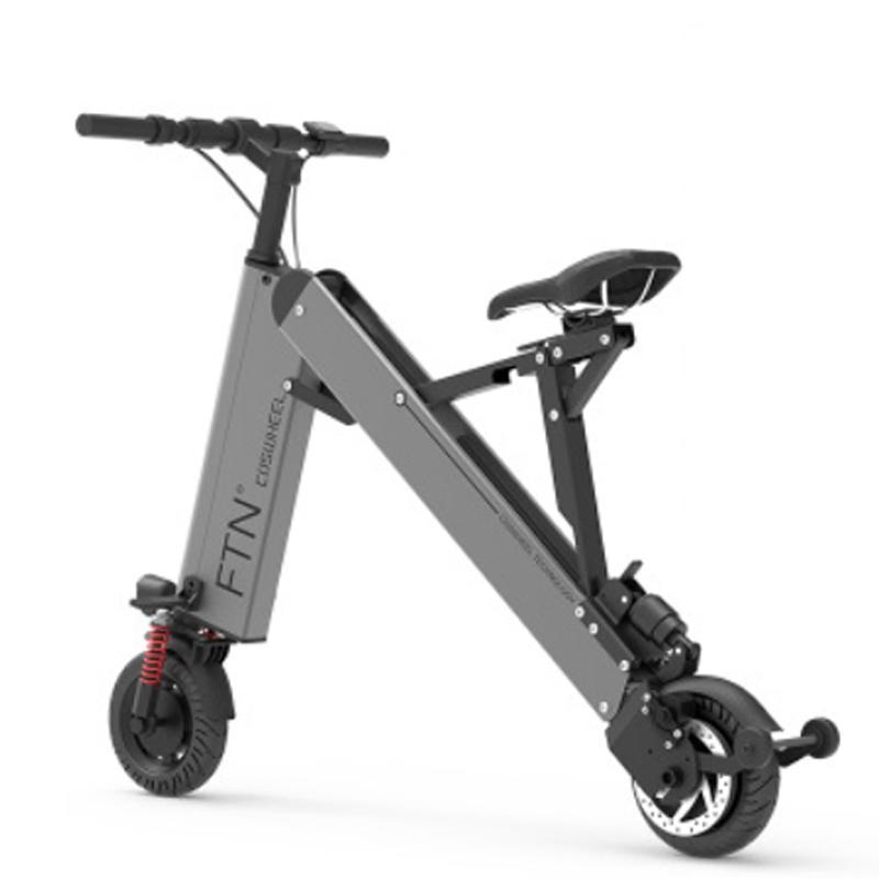 vélo électrique mini-vélo électrique pliant adulte e vélo pile au lithium portable ultra-léger en alliage d'aluminium