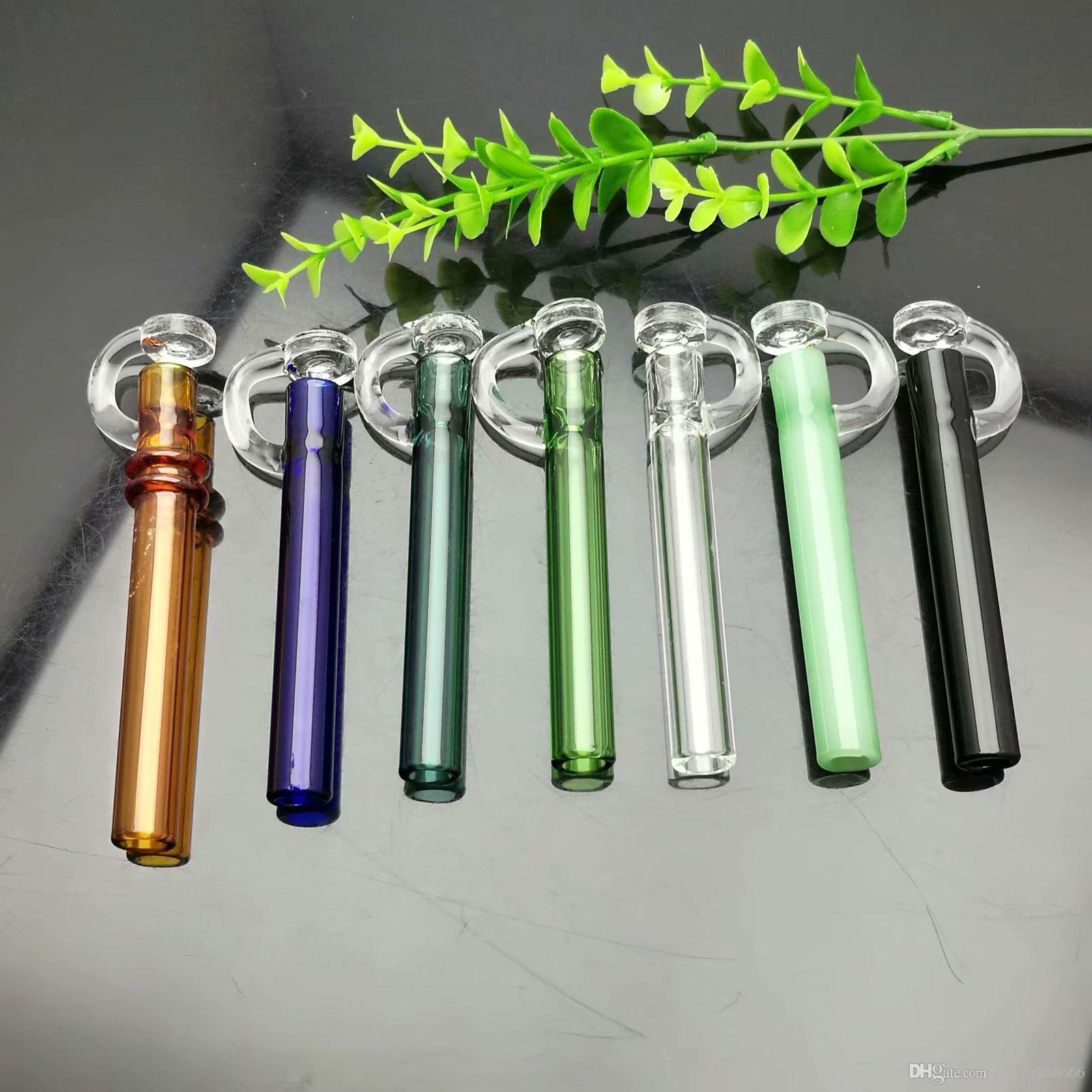 Pipa Colorata con olio di copertura Grande Pyrex Glass Oil Burner tubo Spesso rigs pipa ad acqua in vetro