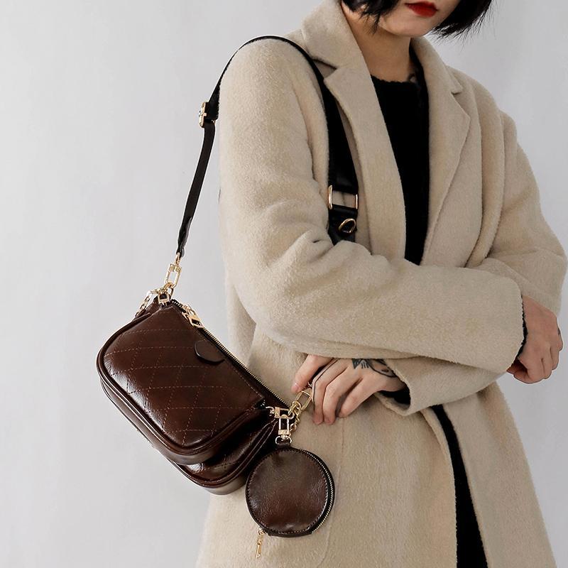 2020 de Moda de Nova Pequeno Flap Bag pu couro Projeto Bolsas Bolsa PU Bolsa de Ombro Bandoleira Sacos para Mulheres Messenger Bags