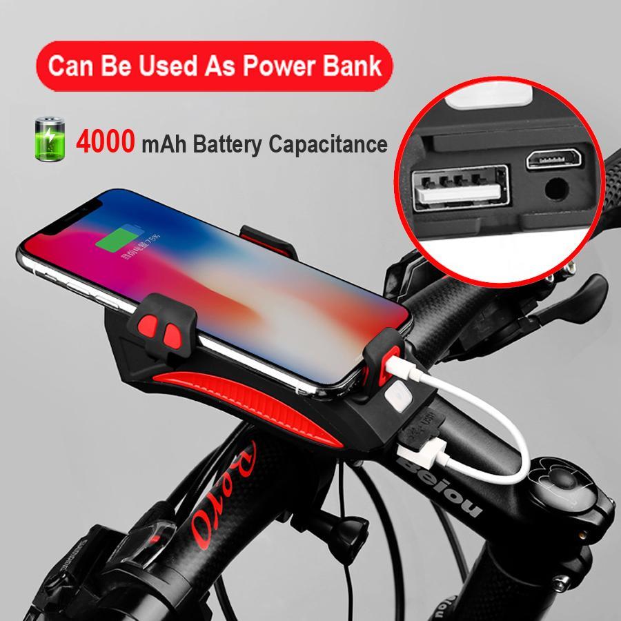 Grosshandel Newboler Fahrrad Power Bank Licht Usb Wiederaufladbare