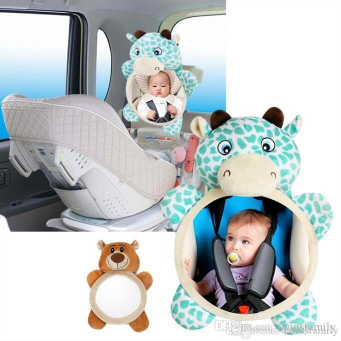 سلامة الطفل سيارة مرآة الرؤية الخلفية السيارة الخلفي مراقب المقعد الخلفي مرآة الرؤية الخلفية قابل للتعديل مقعد الطفل مرآة الرؤية الرؤية الخلفية مساعدة مرايا DYP7042