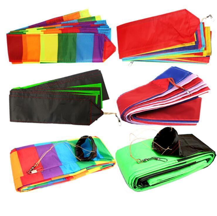10 15M 30M Rainbow Bar Kite Tail For Delta Kite Stunt Kites Kite Accessory Outdoor Fun Sports Toys For Children Gift