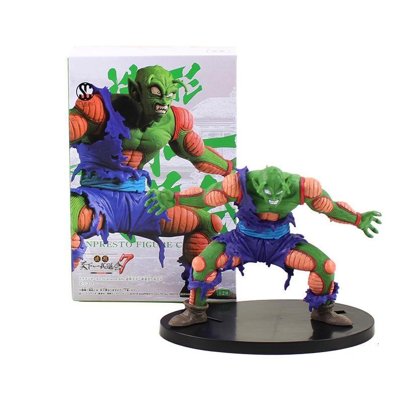Dragon Ball Z Piccolo Super Saiyan Son Gohan Hercule Mark Piccolo PVC Action Figure Broly son goku Dragonball model toys Y191105