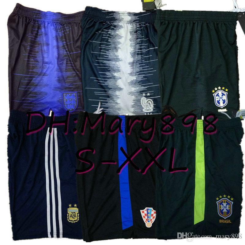 En Tay kalite 19 20 milli takım şampiyon 2 yıldız Meksika Brezilya Arjantin Futbol Şort 2019 2020 futbol Şort Boyut S M L XL XXL